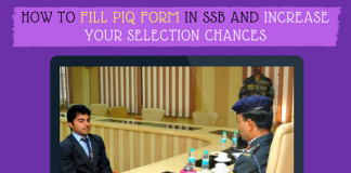 How to Fill PIQ Form in SSB and Increase Your Selection Chances