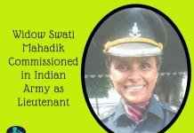 Widow Swati Mahadik Commissioned in Indian Army as Lieutenant