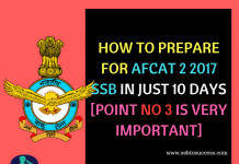 AFCAT SSB Preparation Tips