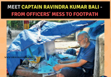 Indian Army Captain Ravindra Kumar Bali