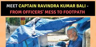 Indian Army Captain Ravindra Kumar Bali
