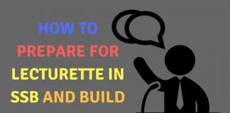 How to Prepare For Lecturette in SSB