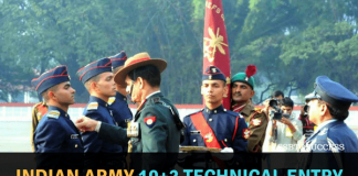 Indian Army 10+2 Technical Entry Scheme (TES 39) Notification