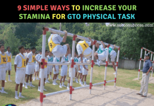 Simple Ways to Increase Your Stamina for GTO Physical Task