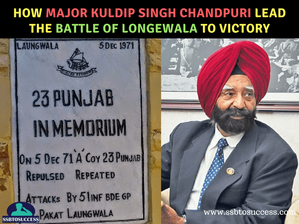 How Major Kuldip Singh Chandpuri Lead the Battle of Longewala to Victory