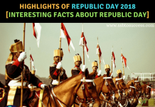 Highlights of Republic Day 2018 [Interesting Facts about Republic Day]