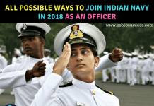 All Possible Ways to Join Indian Navy in 2018 as an Officer