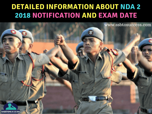 About NDA 2 2018 Notification and Exam Date