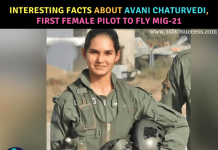 Flying Officer Avani Chaturvedi