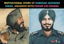 Subedar Joginder Singh param vir chakra
