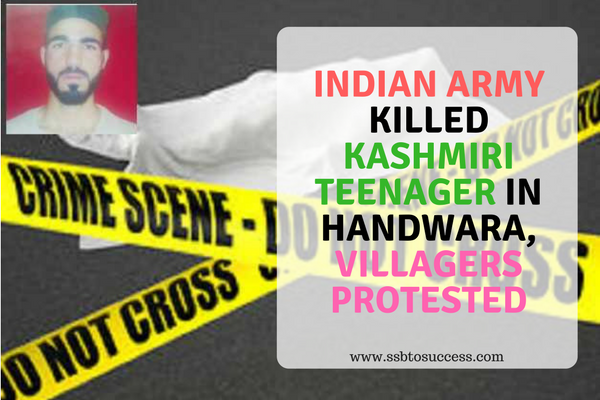 Indian Army Killed Kashmiri Teenager Shahid Bashir Mir in Handwara