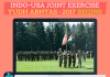 INDO-USA Joint Exercise Yudh Abhyas-2017 Begins
