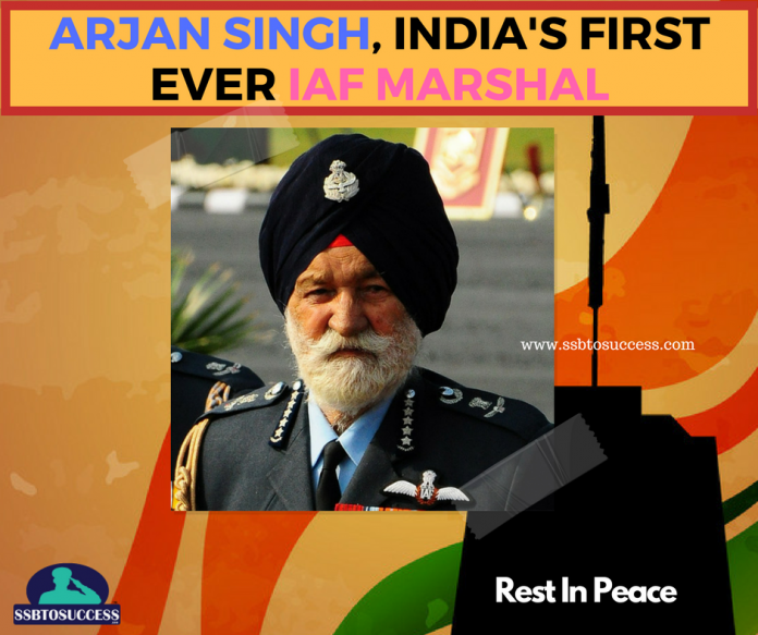 Arjan Singh, India's First Ever IAF Marshal