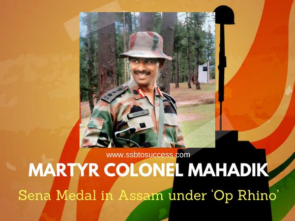 Martyr Colonel Santosh Mahadik, Col Santosh Mahadik