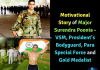 Motivational Story of Major Surendra Poonia- VSM, President's Bodyguard, Para Special Force and Gold Medalist