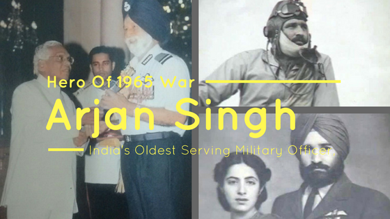Hero Of 1965 War, Arjan singh
