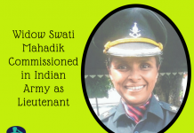 Widow Swati Mahadik Commissioned in Indian Army as Lieutenant