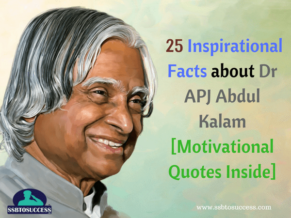 25 Inspirational Facts About Dr Apj Abdul Kalam Quotes Inside
