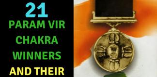 21 Param Vir Chakra Winners