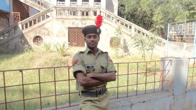 Lieutenant Barnana Yadagiri Images in NCC