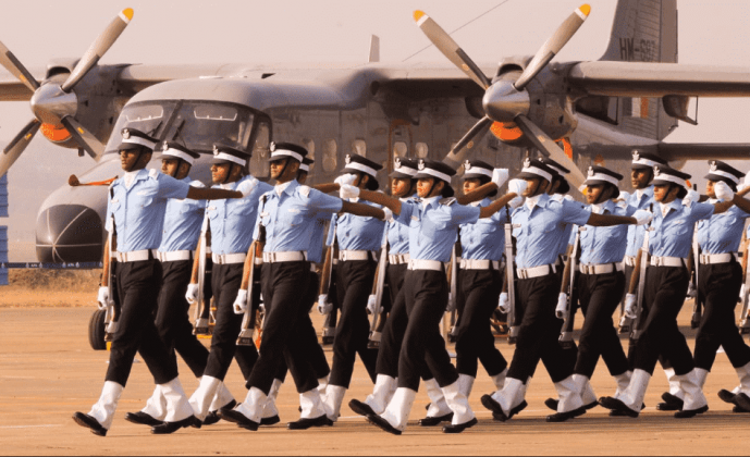 Pictures of Indian Air Force Academy Passing Out Parade 2017