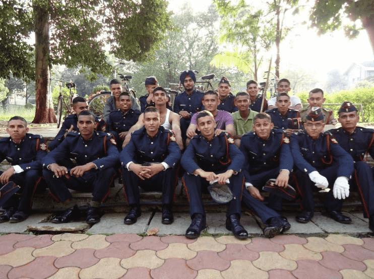Captain Pawan Kumar, 10 PARA 123 NDA