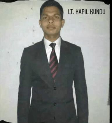 captain kapil kundu during NDA training