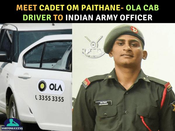 Cadet Om Paithane