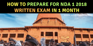 Read How to Prepare For NDA 1 2018 Written Exam in 1 Month.