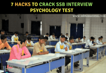 Psychology Test in SSB