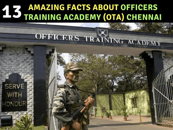 Officers Training Academy Chennai