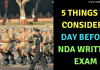 5 Things to Consider 1 Day Before NDA Written Exam