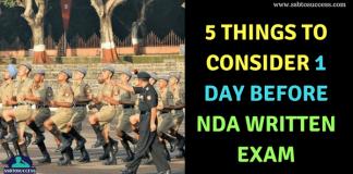 5 Things to Consider 1 Day Before NDA Written Exam