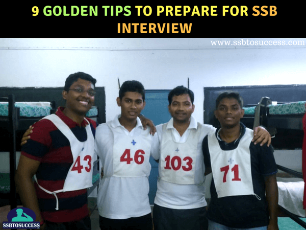 SSB Interview Praparation Tips
