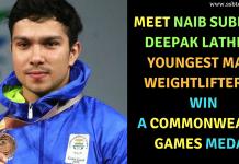 Naib Subedar Deepak Lather Commonwealth Games 2018