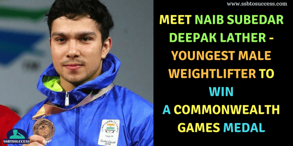 Naib Subedar Deepak Lather Commonwealth Games 2018