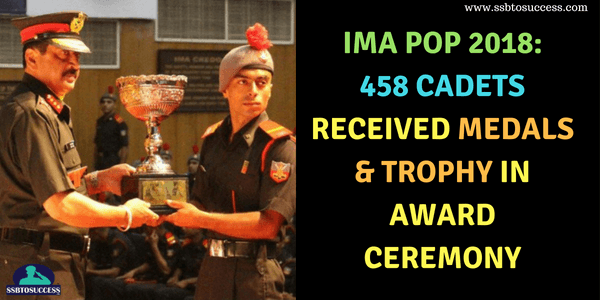 IMA POP 2018 Award ceremony