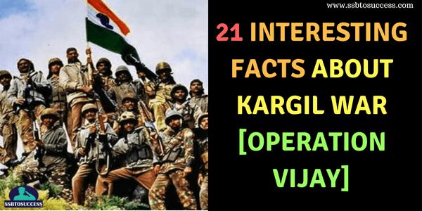 Kargil War [Operation Vijay]