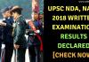 NDA 1 2018 Result Declared
