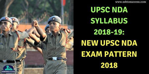 UPSC-NDA-Syllabus-2018-19-UPSC-NDA-Exam-Pattern-2018