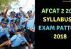 AFCAT 2 2018 Syllabus & Exam pattern