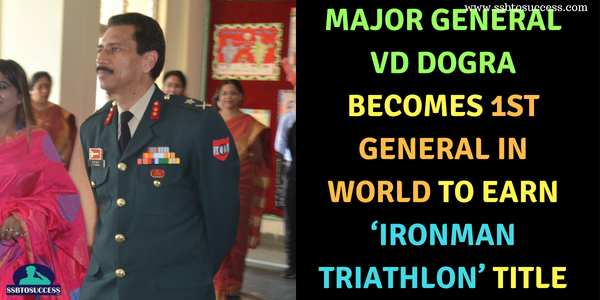 Major General VD Dogra