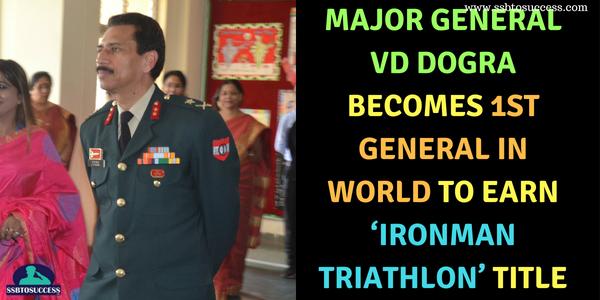 Major General VD Dogra