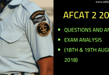 AFCAT 2 2018 Question Paper