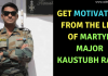 Martyr Major Kaustubh Rane