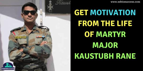 Martyr Major Kaustubh Rane