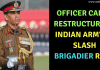 Officer Cadre Restructuring