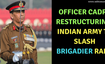 Officer Cadre Restructuring