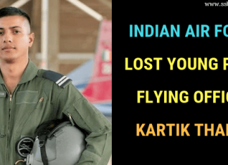 Flying Officer Kartik Thakur