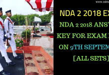 NDA 2 2018 Answer Key